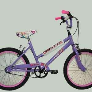Bicicleta cross r.20 dama c/f-he-des