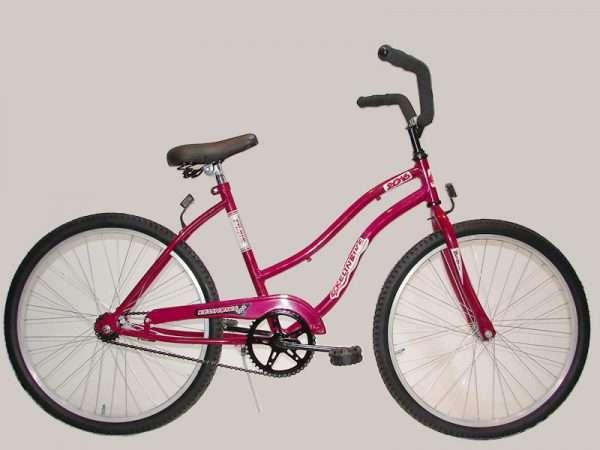 Bicicleta play r.24 dama des