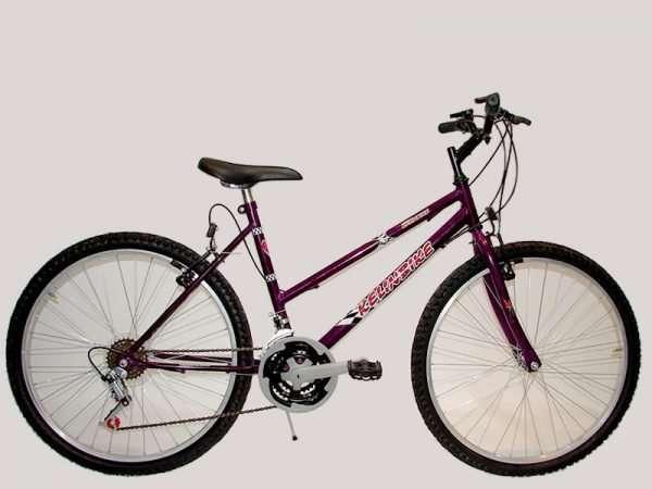 Bicicleta t.t. r.26 dama 18/vel d