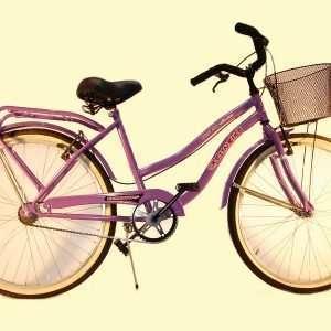 Bicicleta primat. r.26 c/f y can des